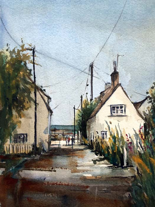 West Mersea, 28x38 Saunders Waterford